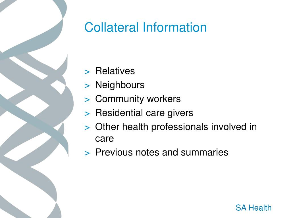 Collateral Information