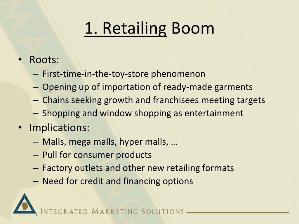 1. Retailing