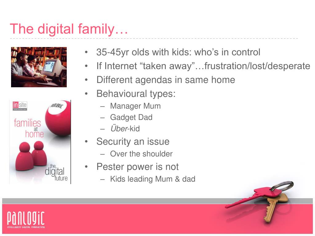 The digital family…