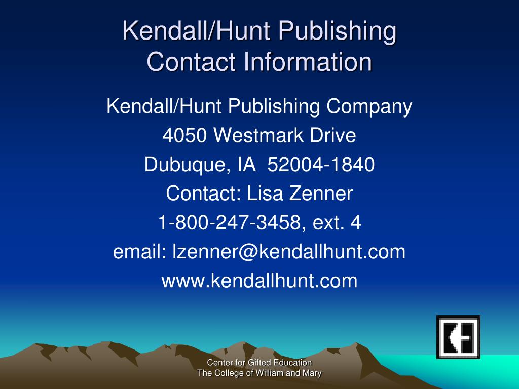 Kendall/Hunt Publishing