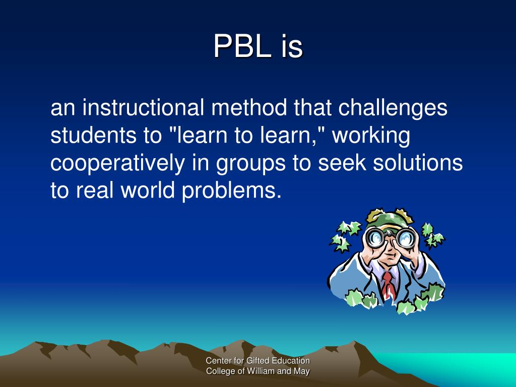 PBL is