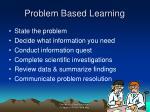 problem based learning26