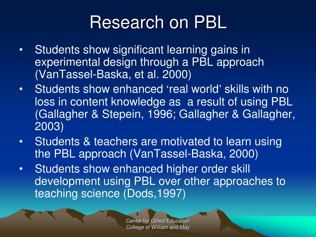 Research on PBL