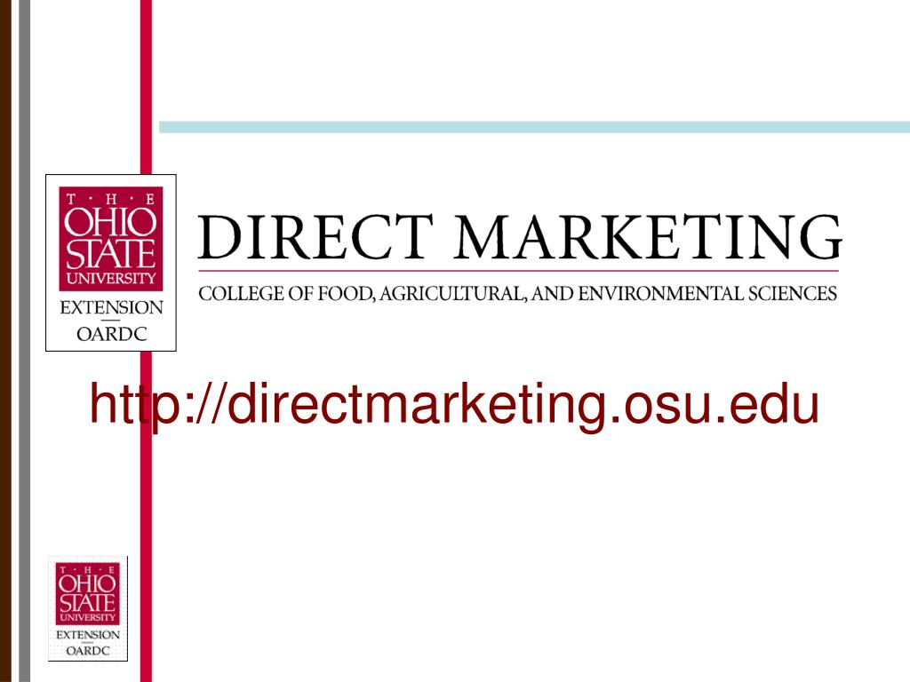 http://directmarketing.osu.edu
