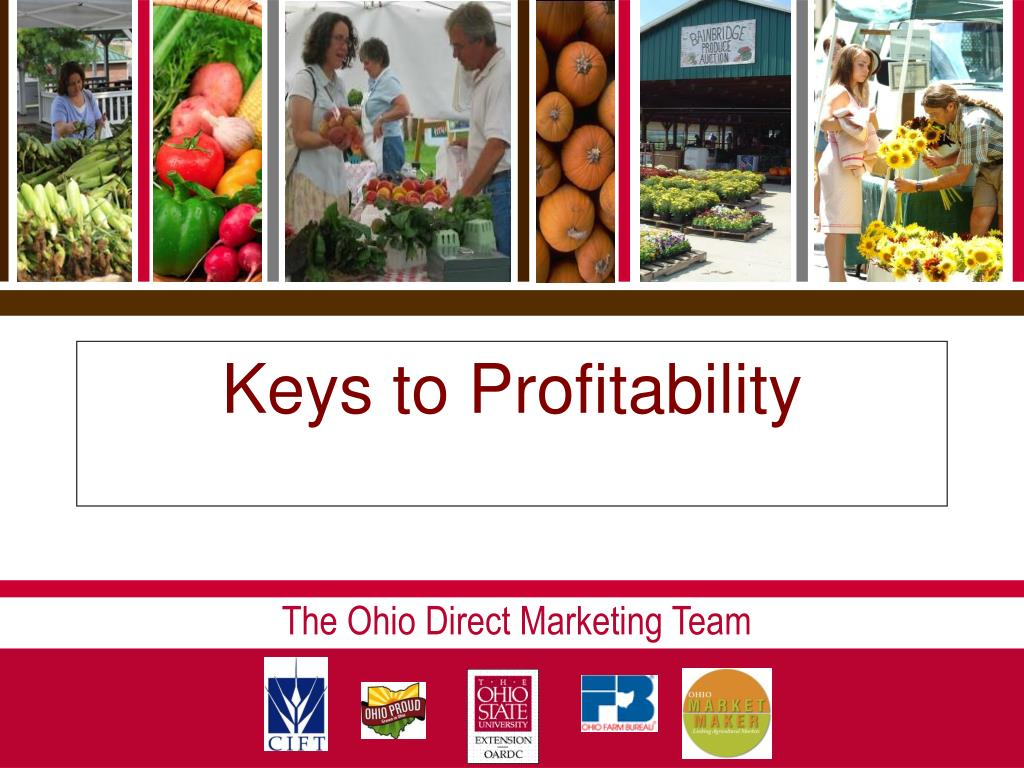 Keys to Profitability