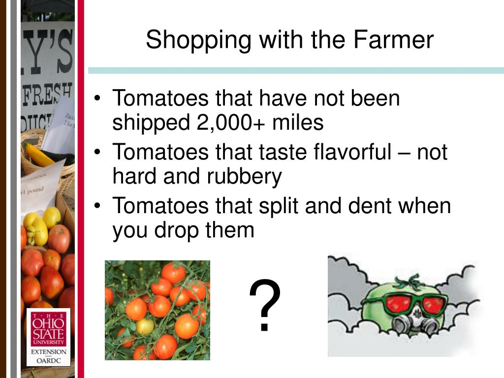 Shopping with the Farmer