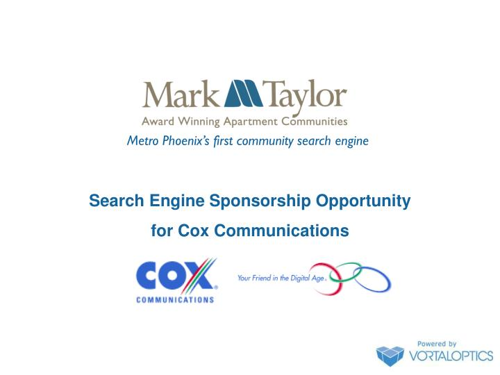 Metro Phoenix's first community search engine