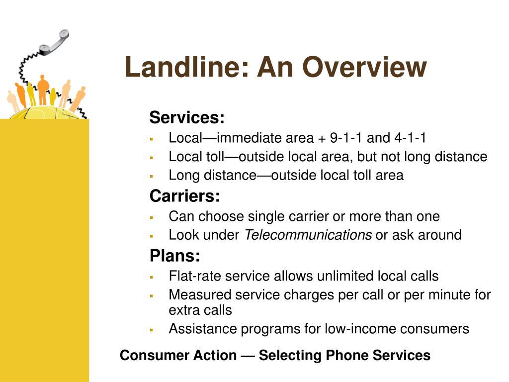 Landline: An Overview