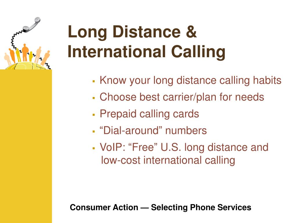 Long Distance & International Calling