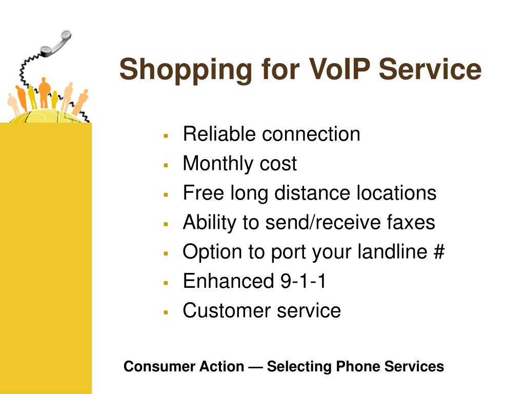 Shopping for VoIP Service