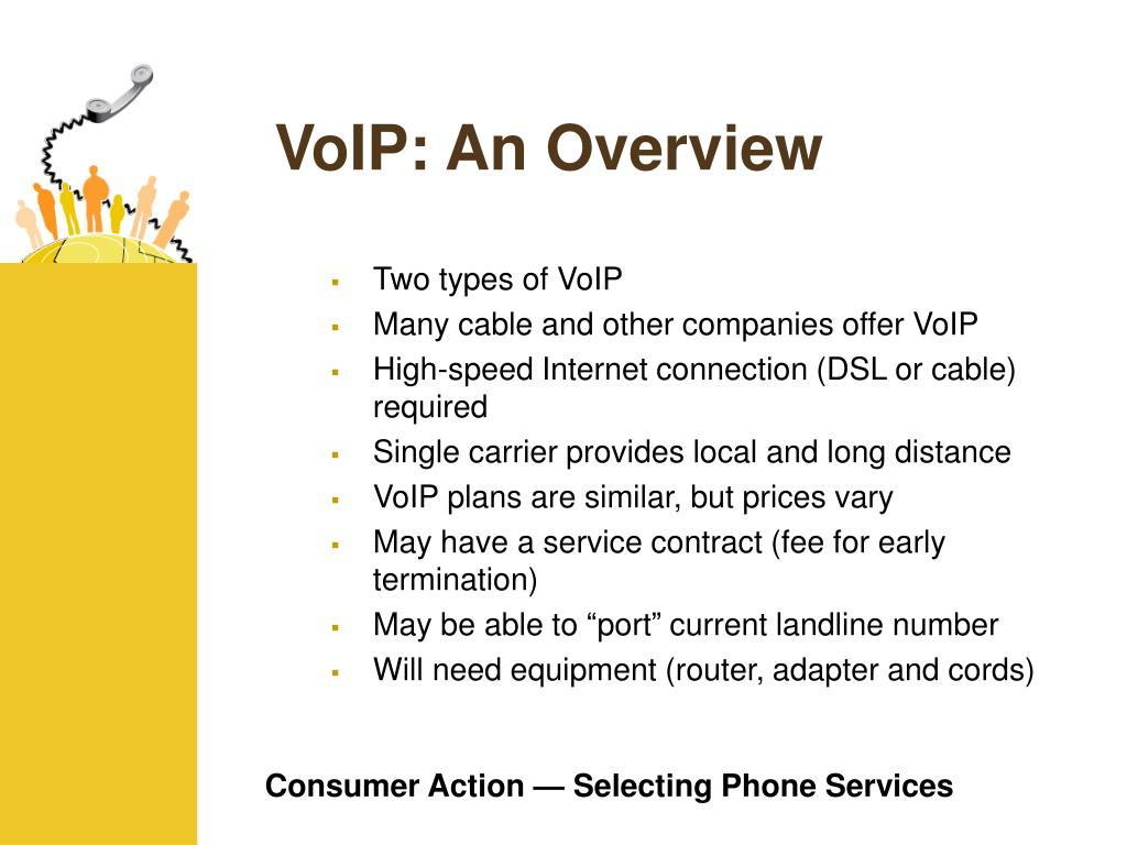 VoIP: An Overview