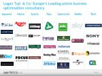 logan tod co europe s leading online business optimisation consultancy