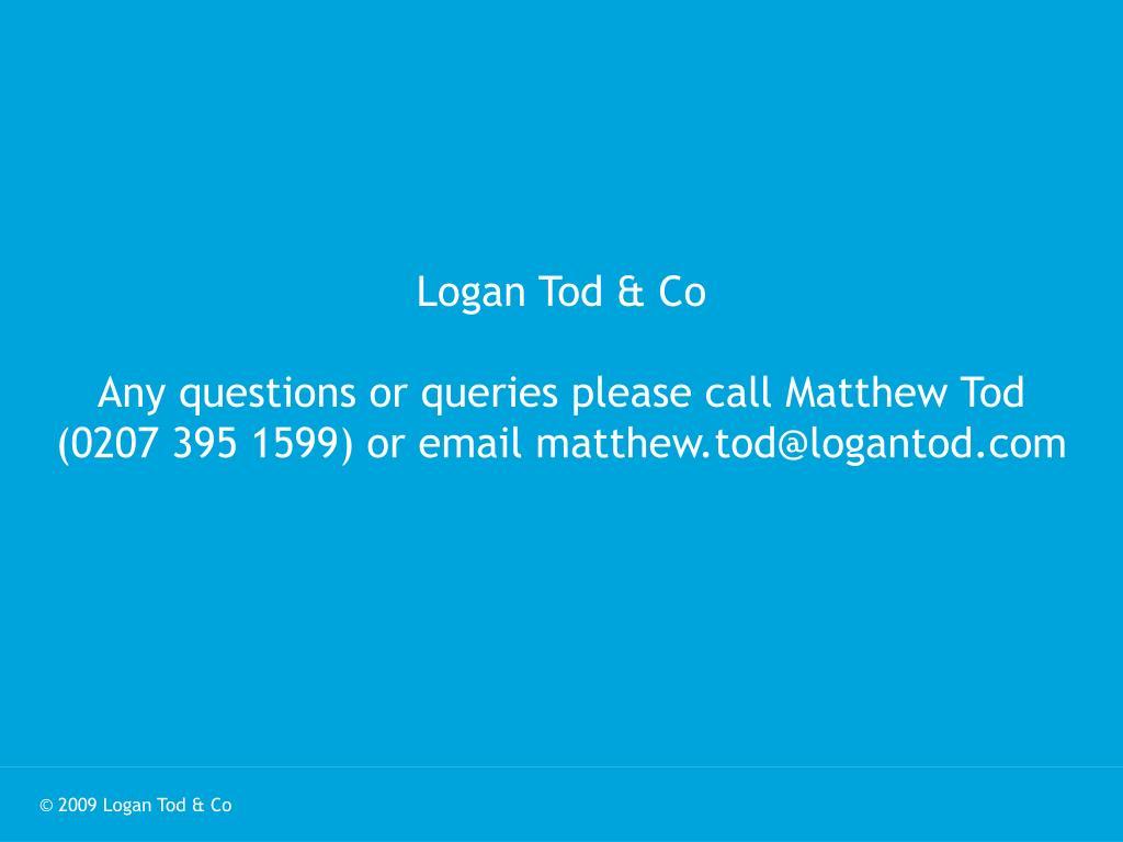 Logan Tod & Co