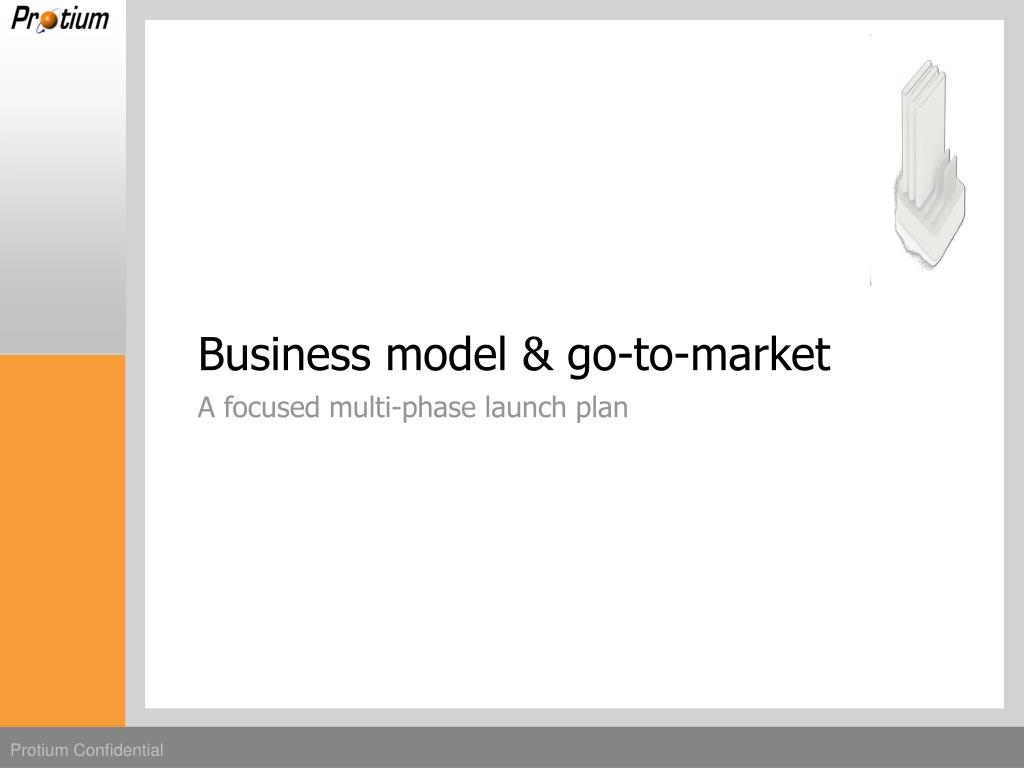 Business model & go-to-market