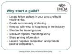 why start a guild