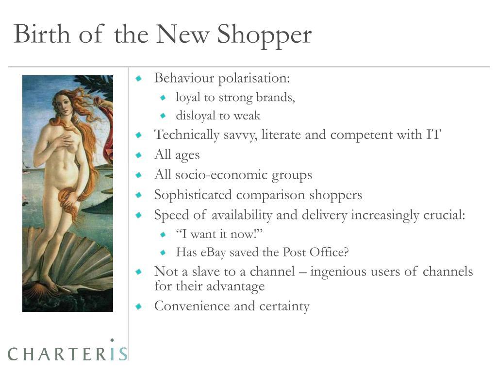 Birth of the New Shopper