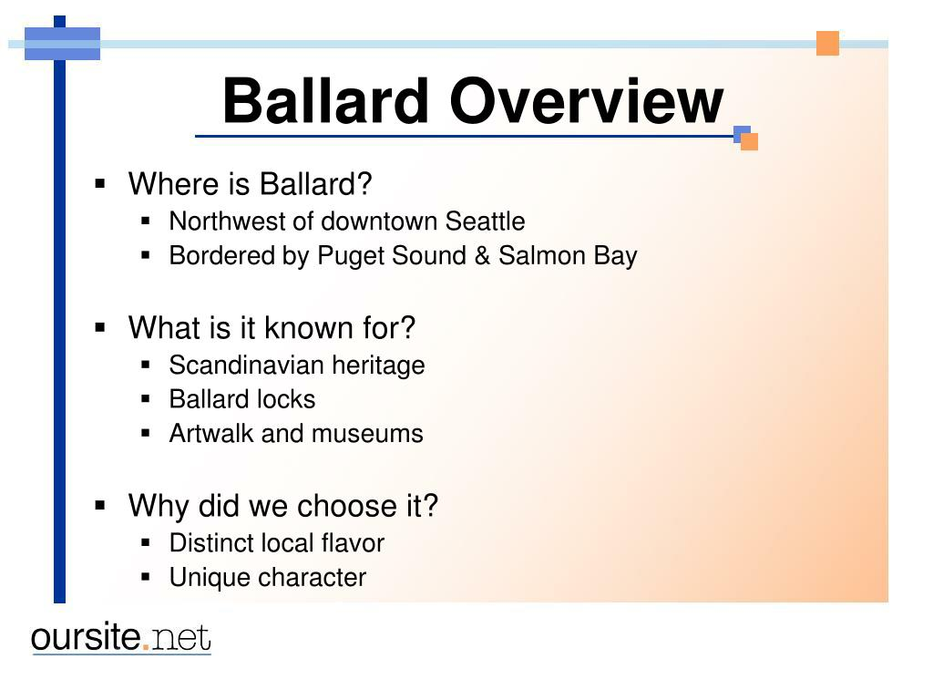 Ballard Overview