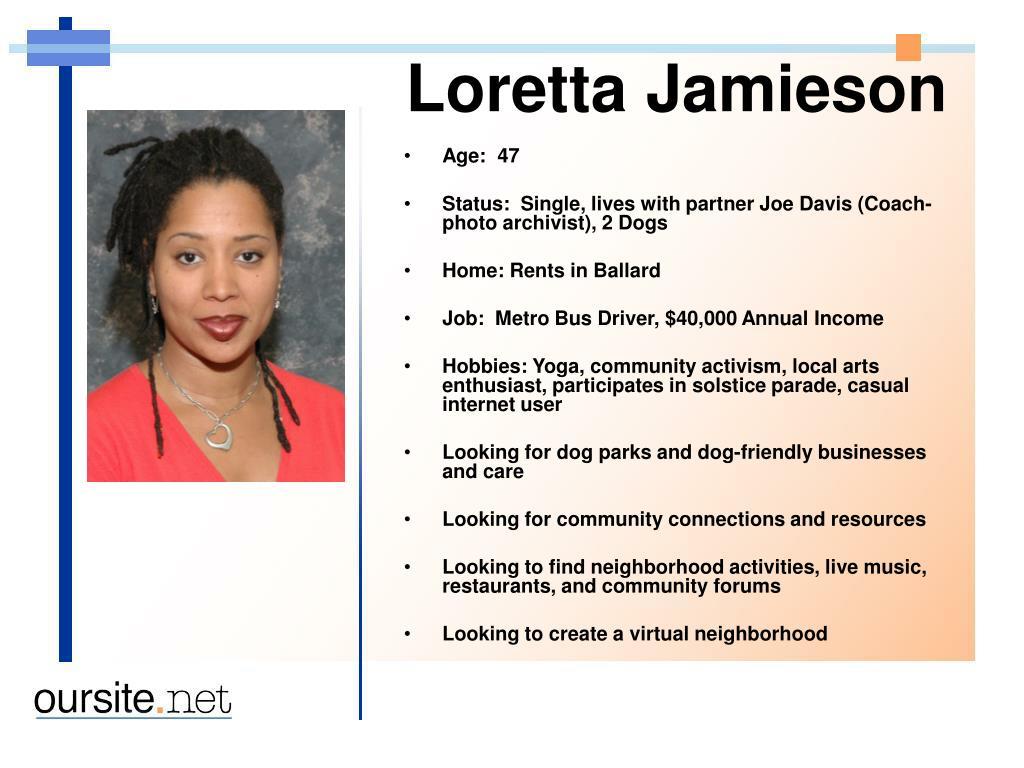 Loretta Jamieson