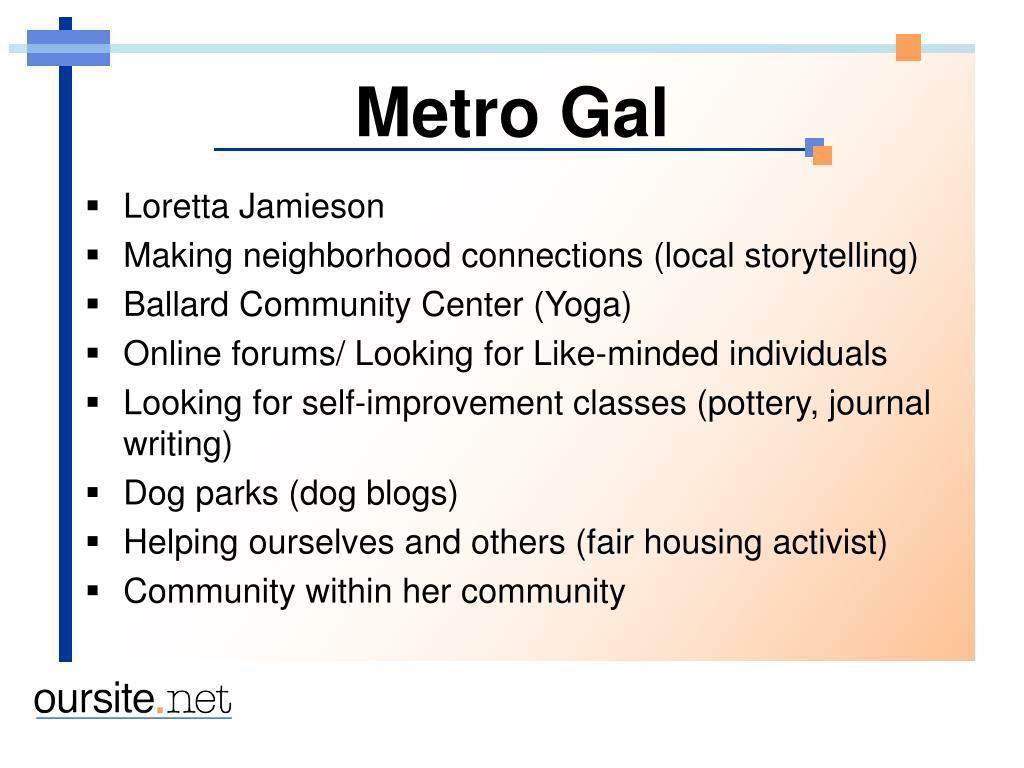 Metro Gal