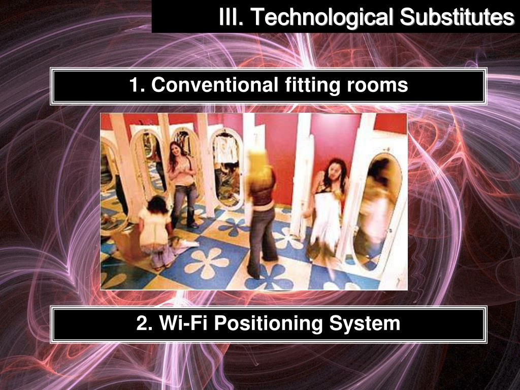 III. Technological Substitutes
