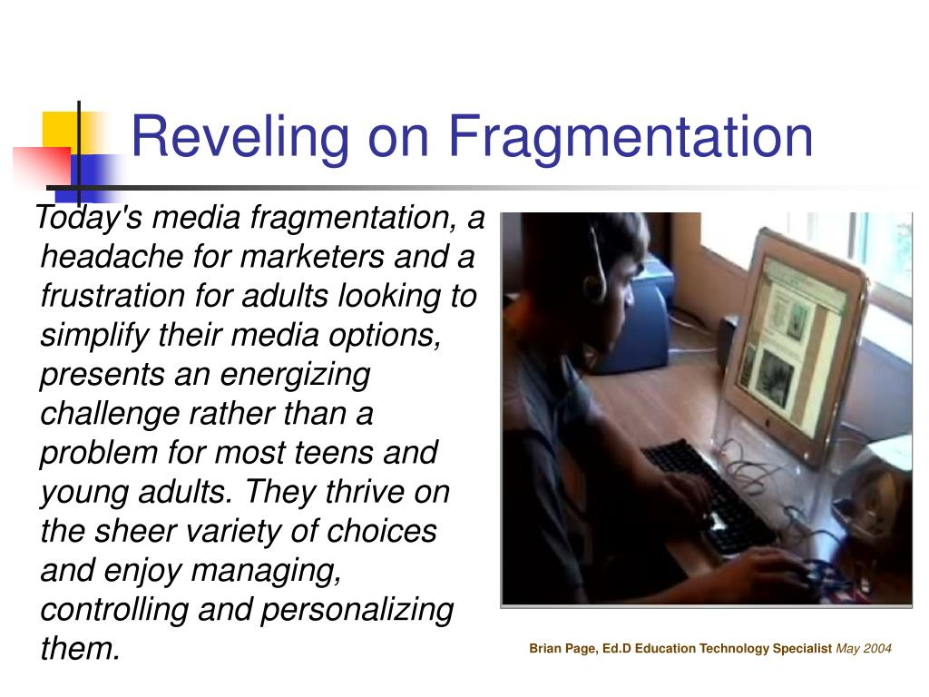 Reveling on Fragmentation
