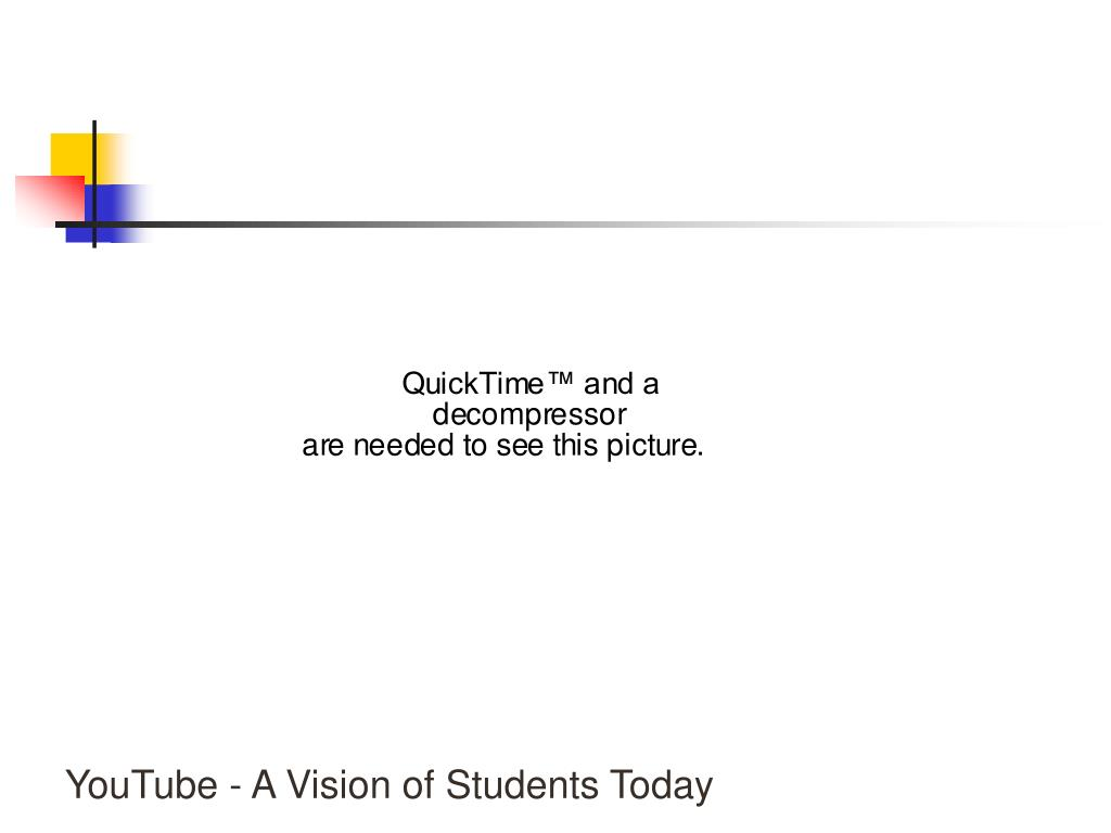 YouTube - A Vision of Students Today