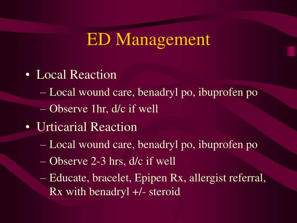 ED Management