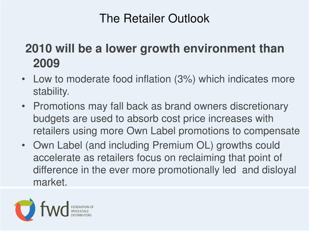 The Retailer Outlook