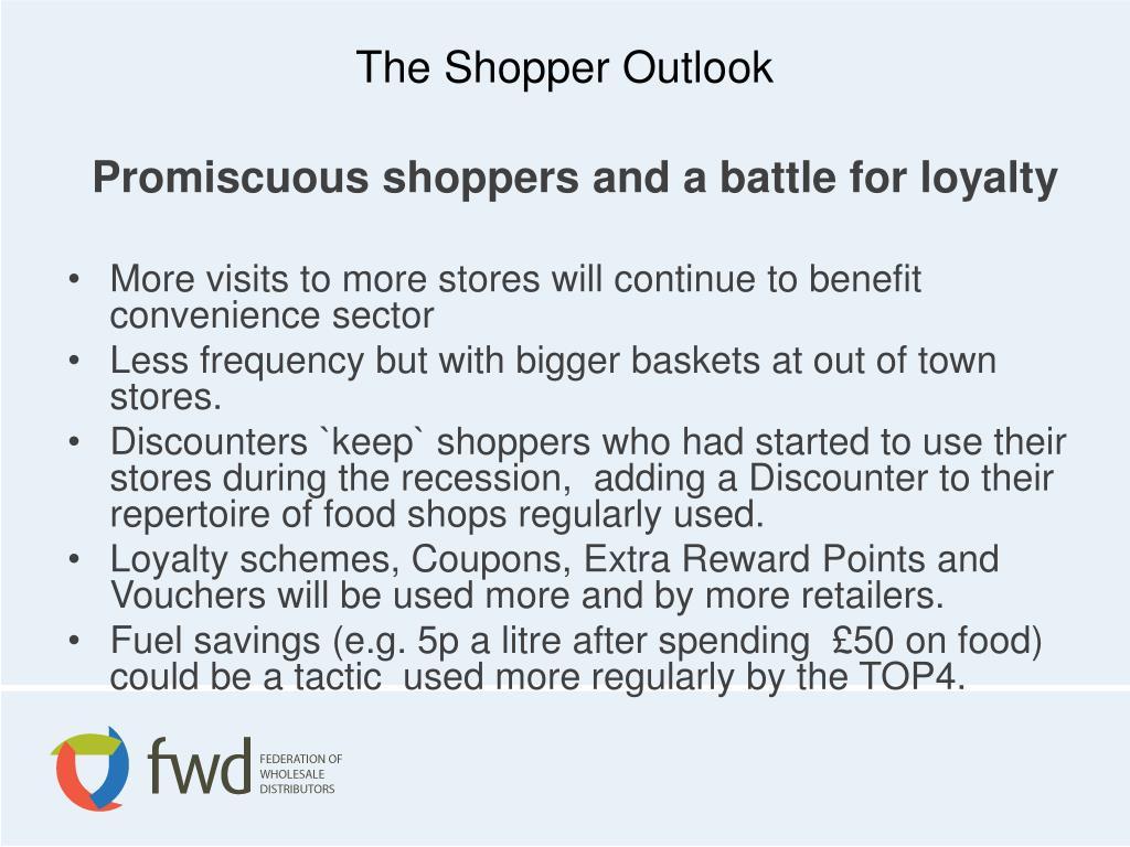 The Shopper Outlook