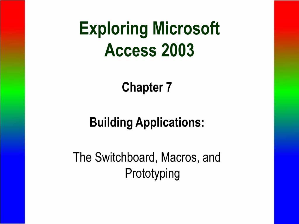 Exploring Microsoft