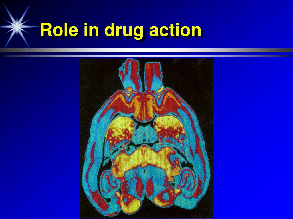 Role in drug action