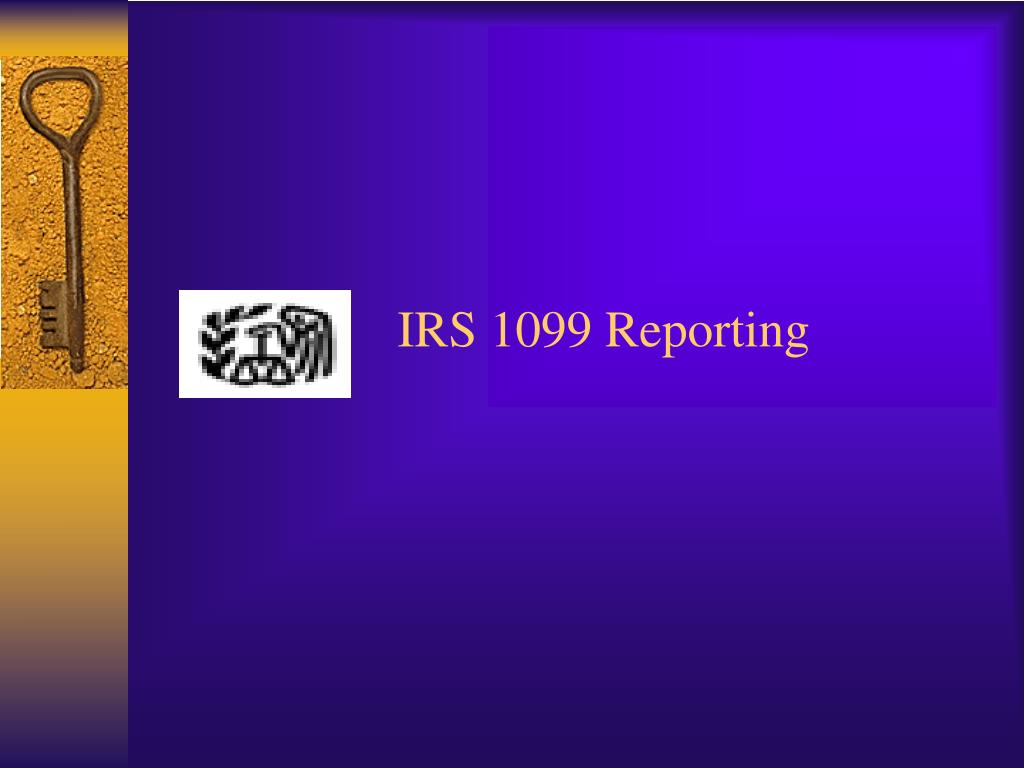 IRS 1099 Reporting