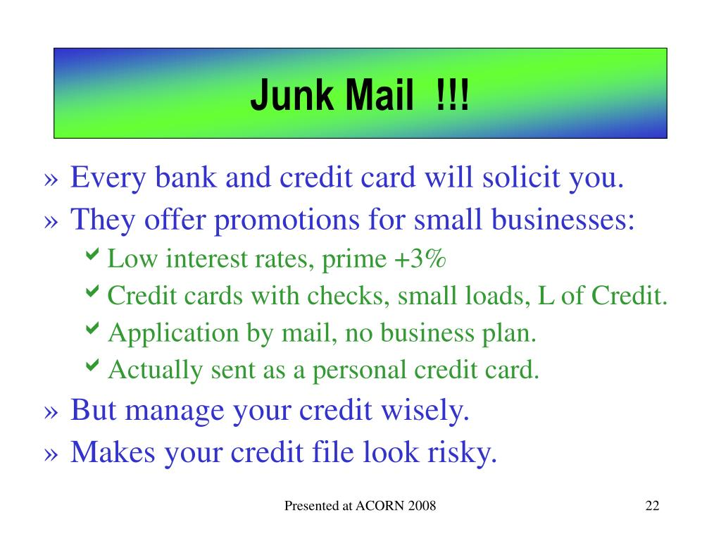 Junk Mail  !!!