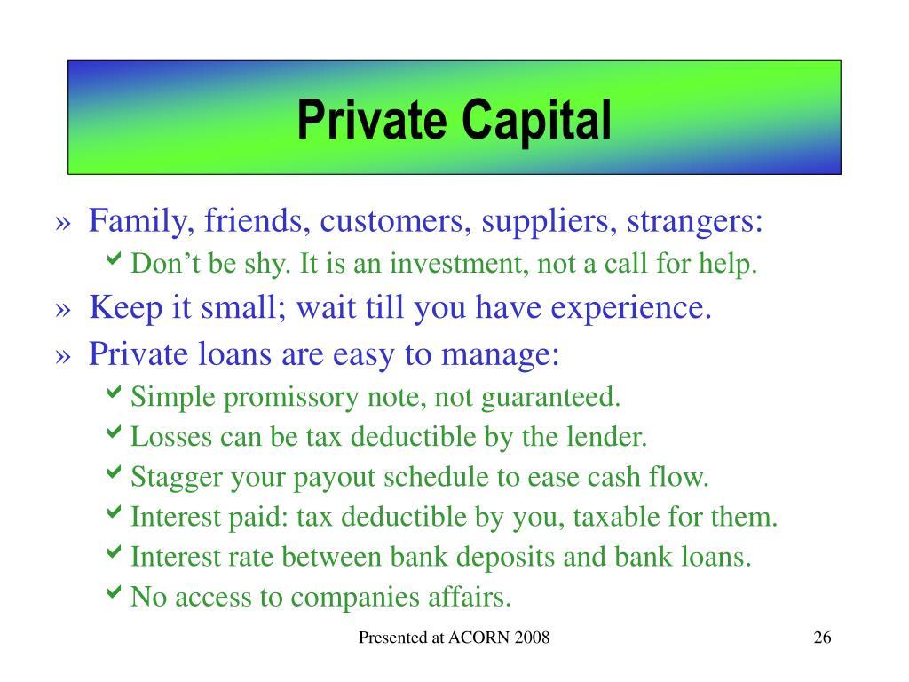 Private Capital