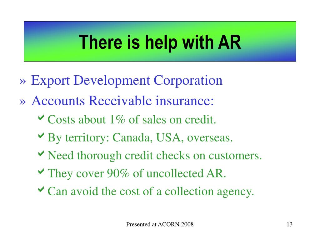 There is help with AR