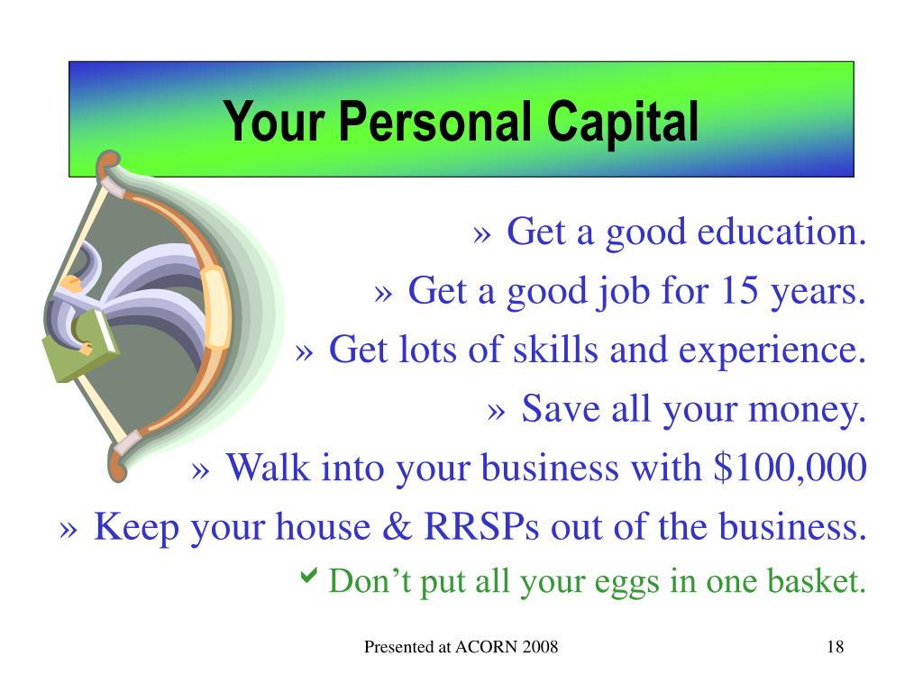 Your Personal Capital