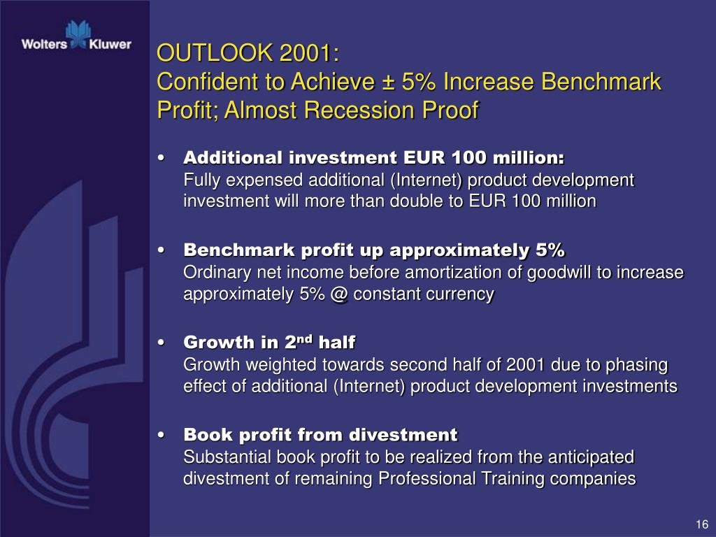 OUTLOOK 2001: