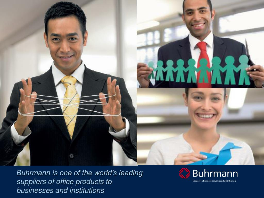 Buhrmann is one of the world's leading suppliers of office products to businesses and institutions