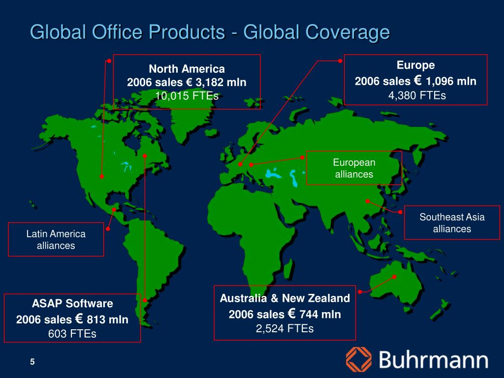 Global Office Products - Global Coverage