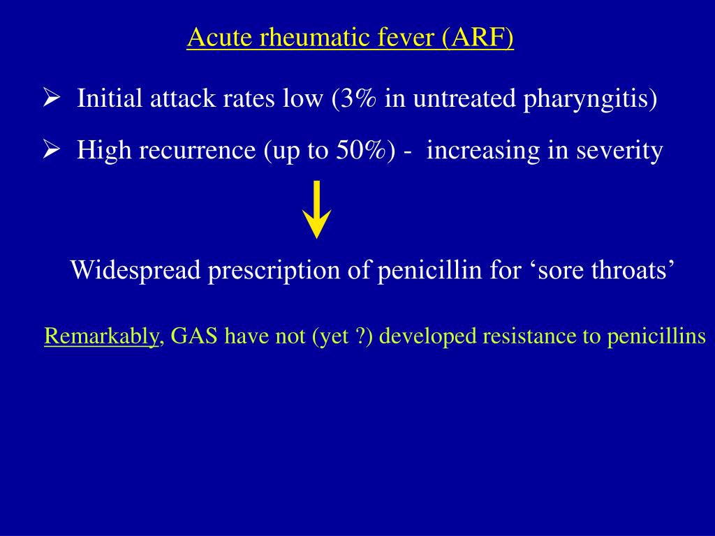 Acute rheumatic fever (ARF)