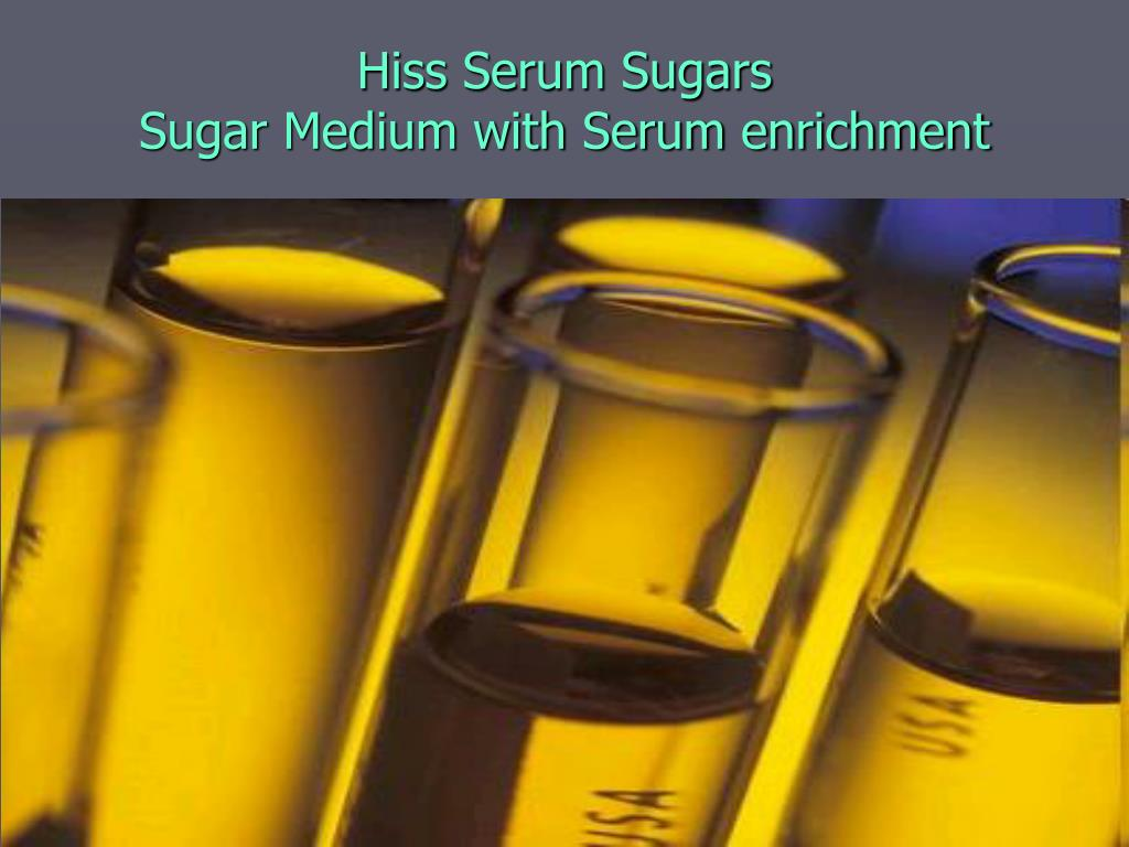 Hiss Serum Sugars
