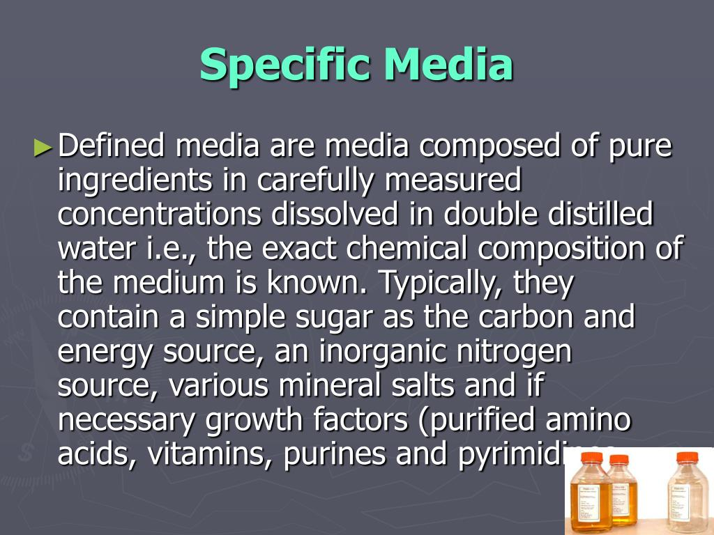 Specific Media
