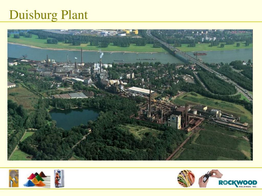 Duisburg Plant