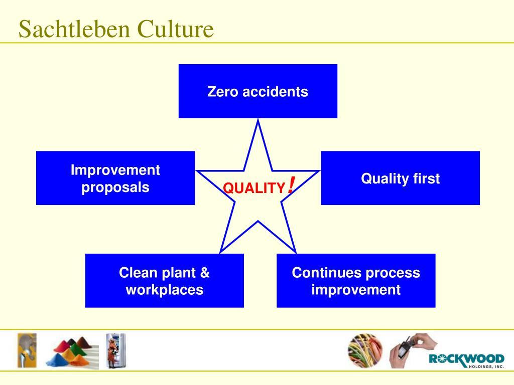 Sachtleben Culture