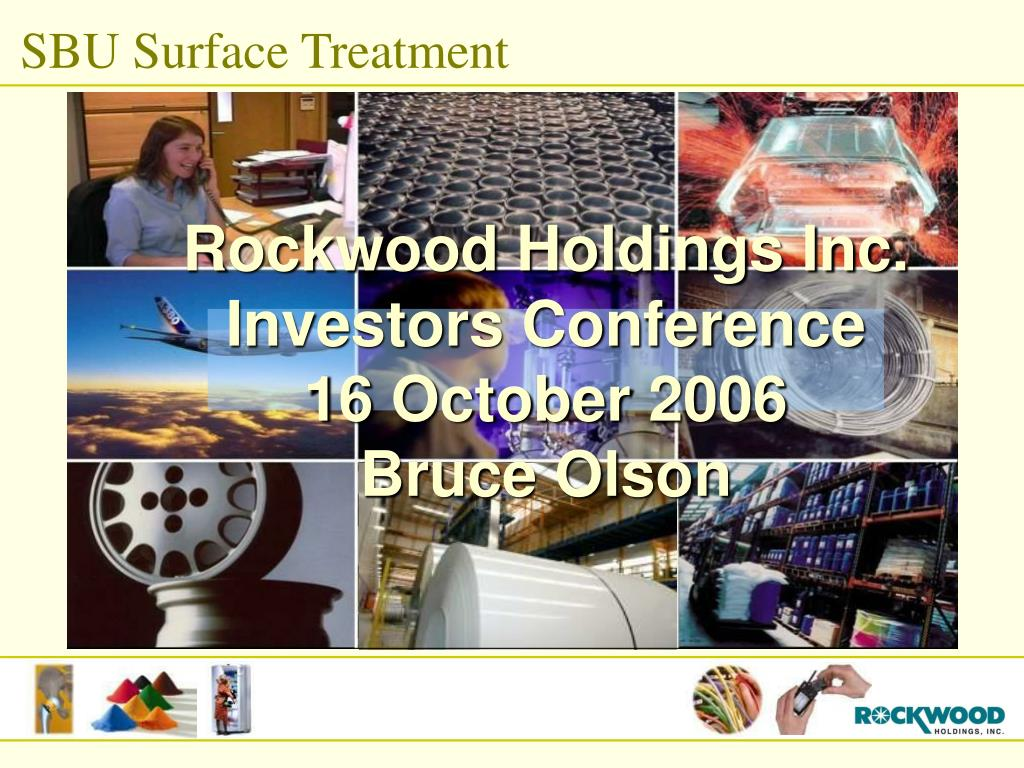SBU Surface Treatment