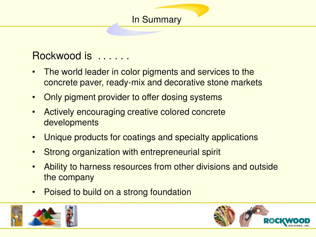 Rockwood is  .