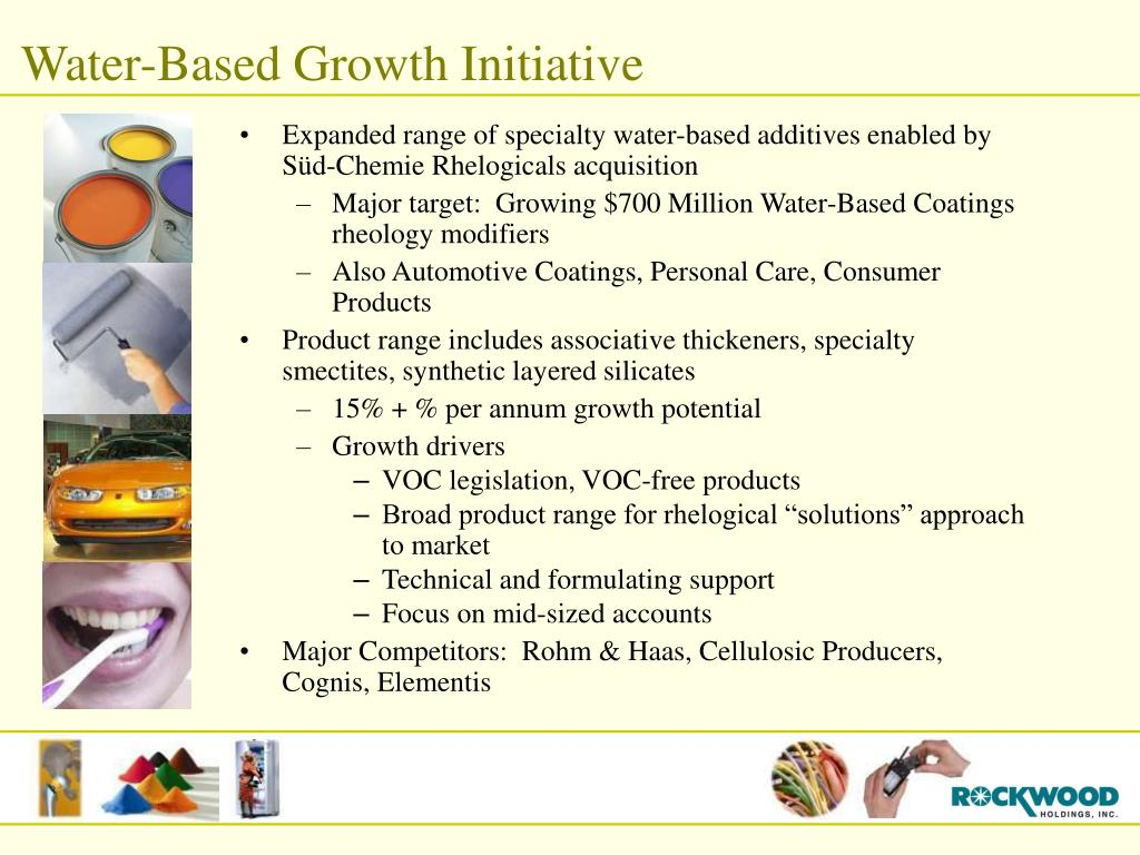 Water-Based Growth Initiative
