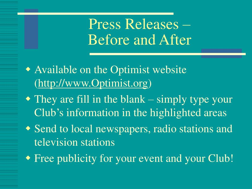 Press Releases –