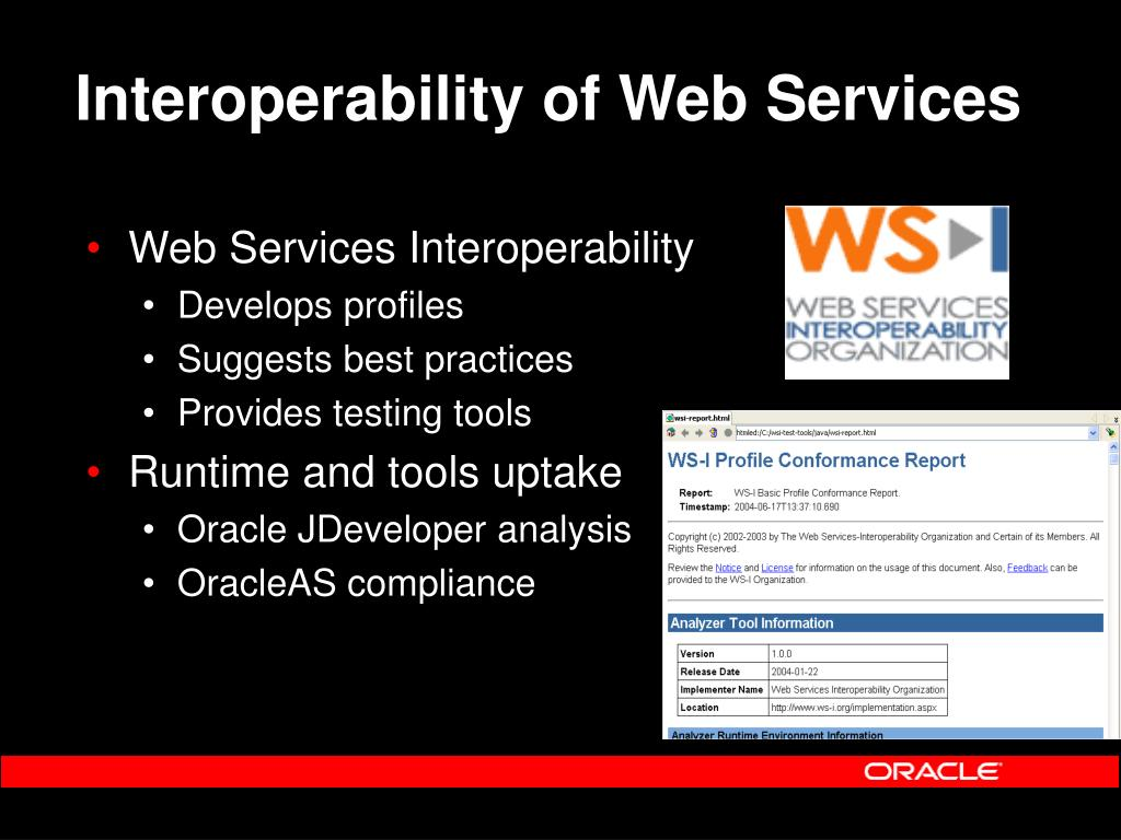 Interoperability of Web Services