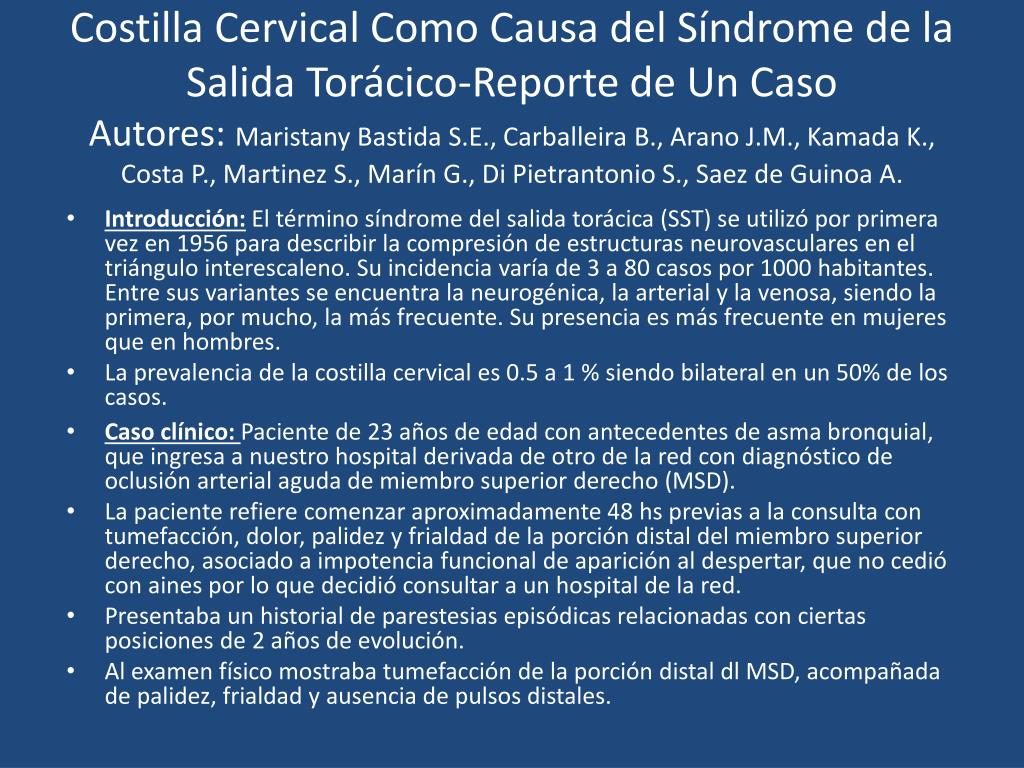 Costilla Cervical Como